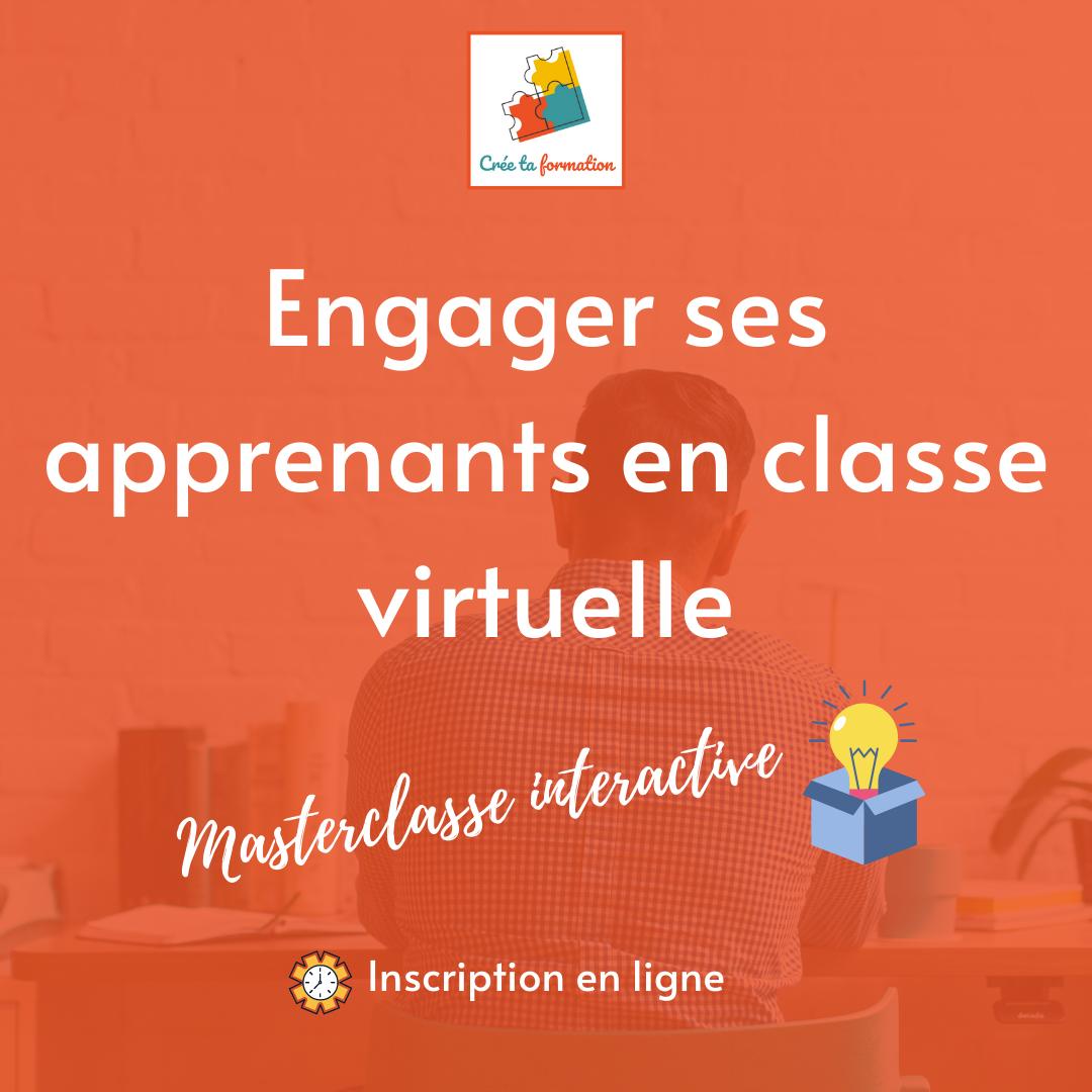 Animer une classe virtuelle